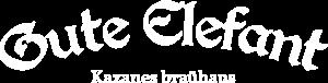 """Логотип Gute Elefant. Группа компаний """"Вкус"""""""