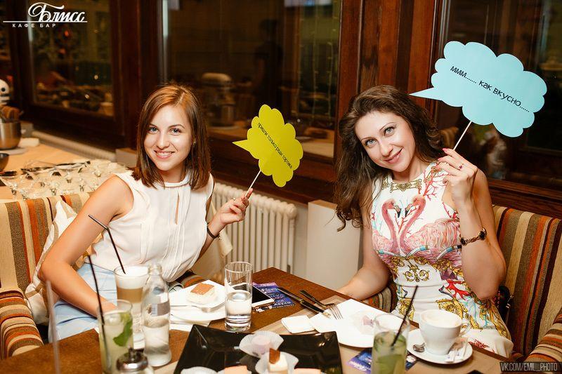 Десертная вечеринка в кафе Блисс